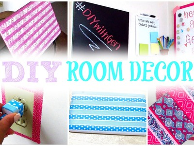 DIY Room Decor | Decorate Your Room with Washi Tape! Cute, Cheap, and Affordable!