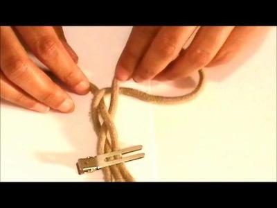 DIY: Shoe String Bracelet | Recycle Your Shoe Laces