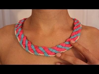 DIY Shoelace necklace