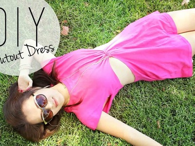 DIY Summer  Beach Cutout Dress Coverup | ANNEORSHINE