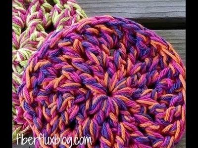 Episode 95: How To Crochet Super Squishy Trivets (Round Version)