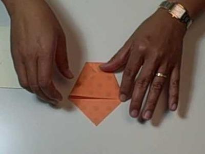 Flower Pot Fold - Origami - From HankoDesigns.com