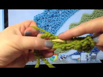 How to Knit a Tab Insert