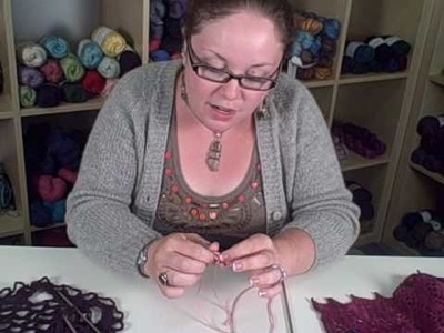 How to Knit Lace - Lesson 3 (Part 3 of 4)