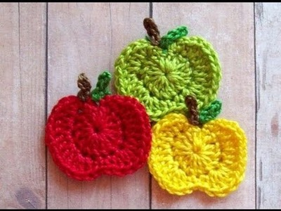 How to make a Crochet Apple