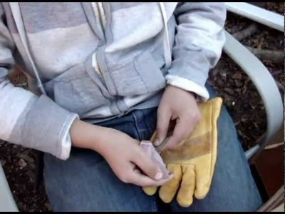 How to make a flint arrowhead