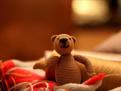 How to make a teddybear - Tutorial - Crochet