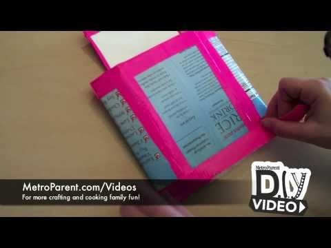 How to Make a Tetra Pak Wallet | MetroParent.com DIY