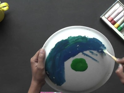 How to make an African Drum - Arts & Crafts in Hindi