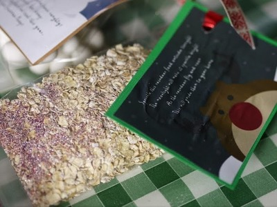 How to: Make simple Christmas Crafts - Reindeer Food
