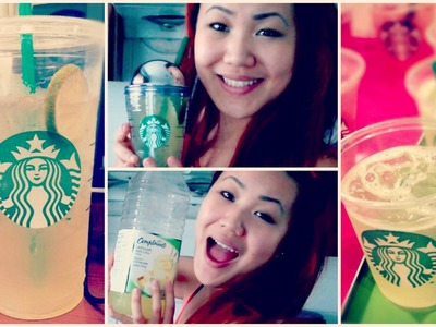HOW TO MAKE THE STARBUCKS COOL LIME REFRESHER | DIY TUTORIAL