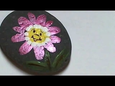 #Kids crafts. Rock Painting