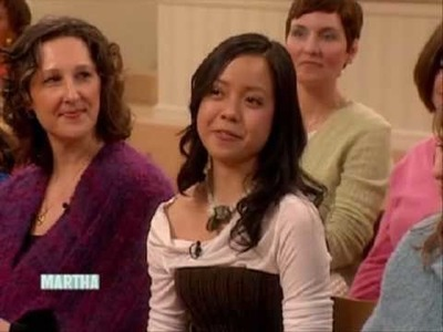 KnitKnit on The Martha Stewart Show