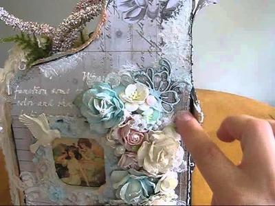 Lavish Laces DT project:Craft desk organizer. dont forget to vote.