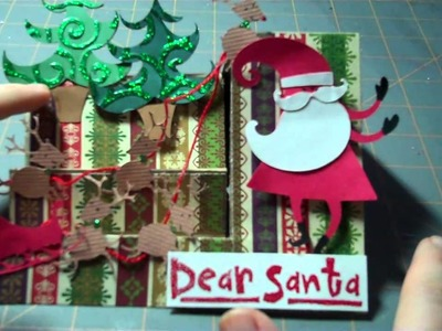 Let's Get Crafty Episode # 50 Holiday Card Series # 8: Side Step Card