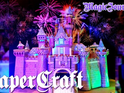Let's PaperCraft the Sleeping Beauty Castle!