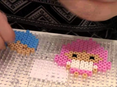 Little twin stars ★ perler beads