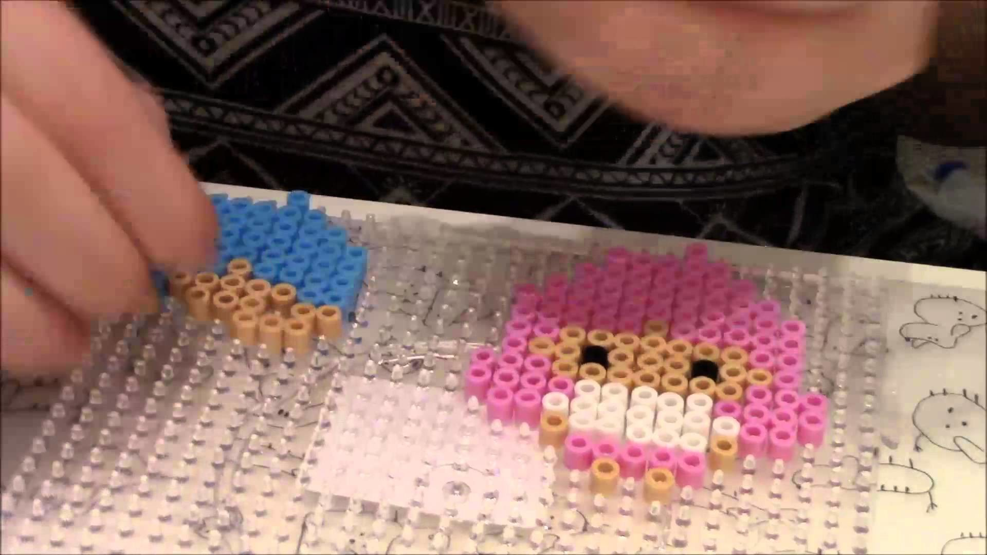 Little twin stars ★ perler beads