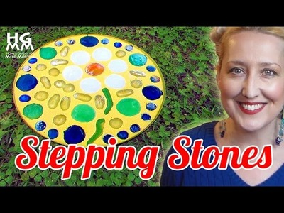 Looking For A Project To Do With Your Kids? Fun DIY Stepping Stones!