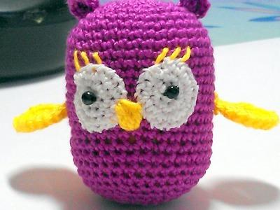 Make a Cute Crochet Owl Rattle - DIY Crafts - Guidecentral