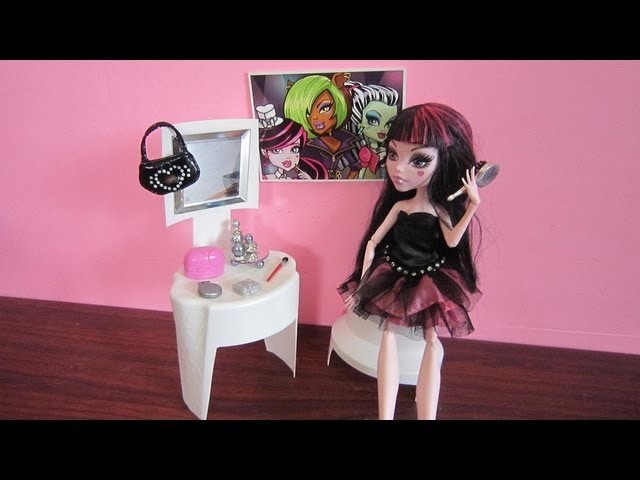 Make a doll vanity - Doll Crafts