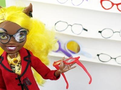 Make Doll Eye Glasses- Doll Crafts