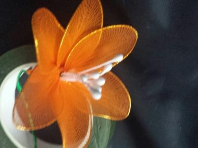 Make Elegant Stocking Flowers - DIY Crafts - Guidecentral