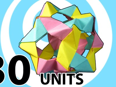 Modular Origami Buckyballs from 30 PHiZZ Units Instructions