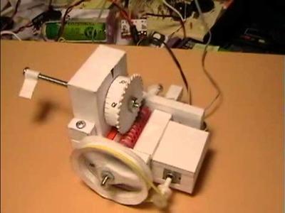 Paper Craft Worm Gear