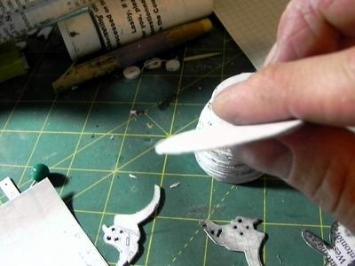 Paper Revolver Pt. 1: Making Parts, and Circles.