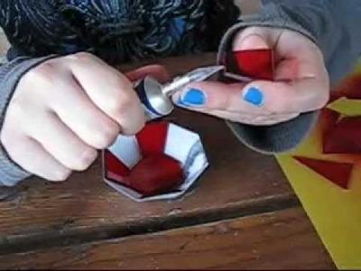 Papercraft With Plexiglass ~ Zar'roc Pommel Ruby ~ Tutorial by Eu Tyto Alba