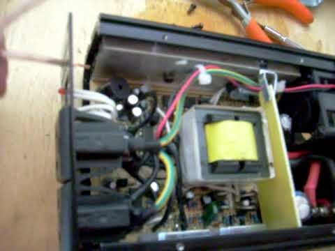 Power Invertor Project Pt2 DIY Remote Relay Wiring for Auto Turn On