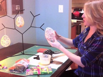 Quick Crafts Easter Eggs with Brittany Spriggs!!