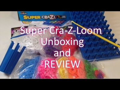 Super Cra-Z-Loom Unboxing and Review by Crafty Ladybug