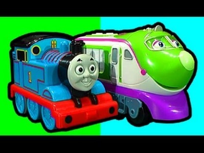 Thomas The Tank Vs Chuggington Koko RC Knockout