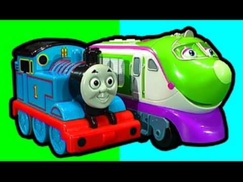 Thomas The Tank Vs Chuggington Koko RC Knockout