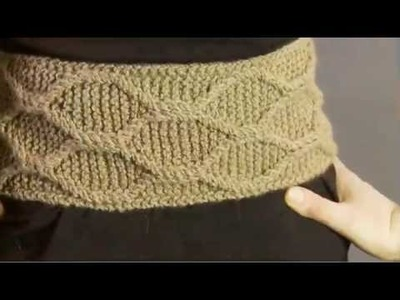 #27 Cabled Belt, Vogue Knitting Winter 2008.09