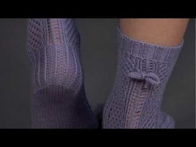 #29 Lace Socks, Vogue Knitting Spring.Summer 2009