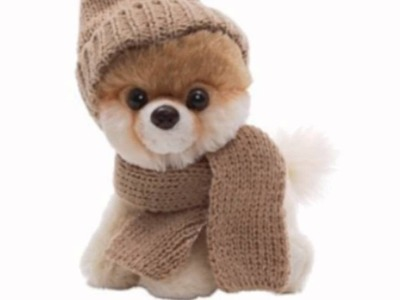 5 Itty Bitty Boo In Knit Scarf And Cap (Toy)