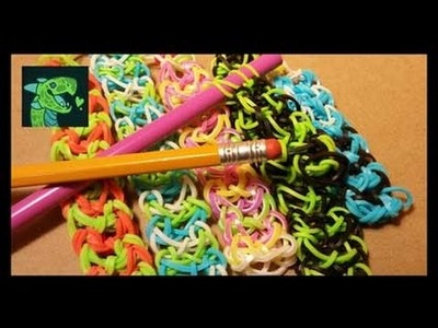Advanced - Dragon Scale Bracelet AKA Love me Knot on Pencils or Knitting needles