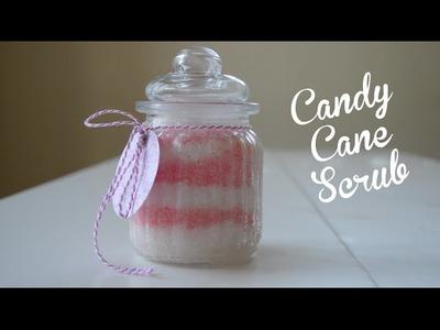 Candy Cane Sugar Body Scrub Tutorial | DIY Christmas Present