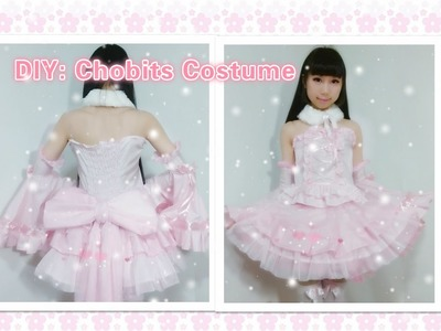 DIY Anime inspired Kawaii outfits-How to make Chobits Chii costume.dress