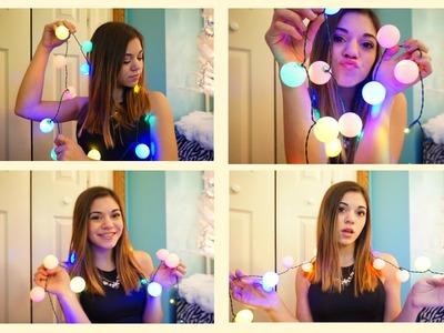 DIY Christmas Ball Lights