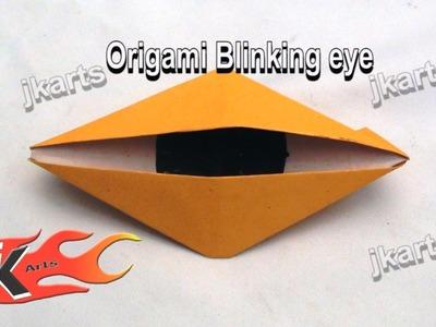 DIY How to make Blinking eye | Origami - JK Arts 087