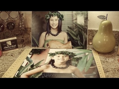 DIY: How to Make Your Own Photo Canvas - asimplysimplelife