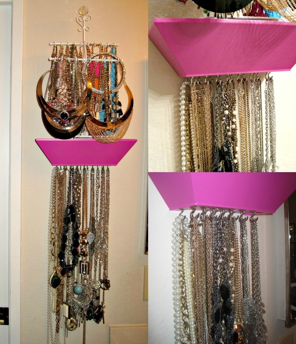 DIY: Jewelry.Necklace holder