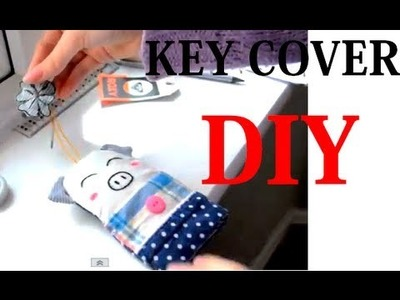 DIY key cover | Adorable Christmas gift