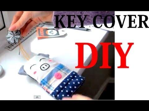 DIY key cover | Adorable Christmas gift