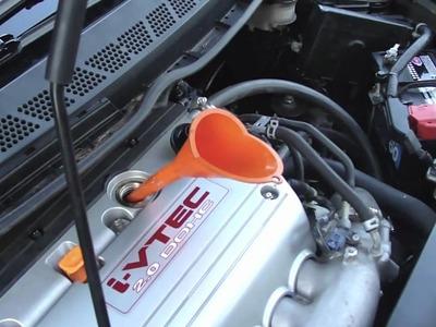 DIY: Oil change for 2007 Honda Civic Si