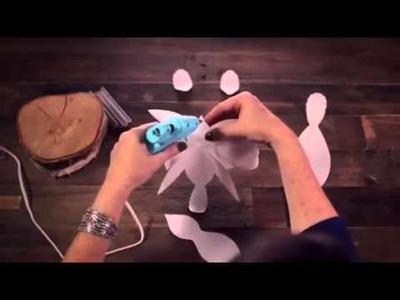 DIY Paper Love Bird